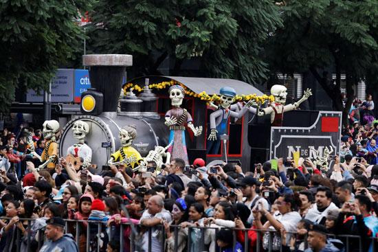 احتفالات يوم الموتى فى المكسيك