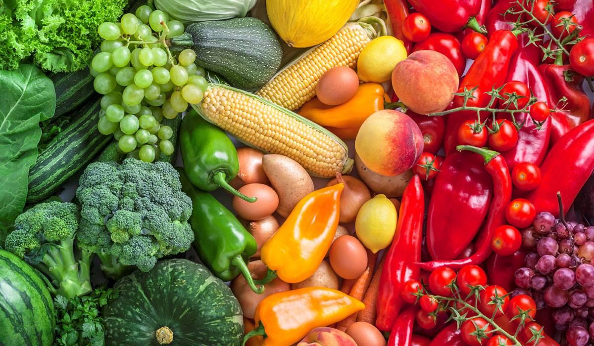 الخضروات والفواكه متعددة الالوان مفيد لصحتك