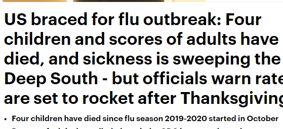 مركز السيطرة على الامراض يحذر من تفشى الانفلونزا