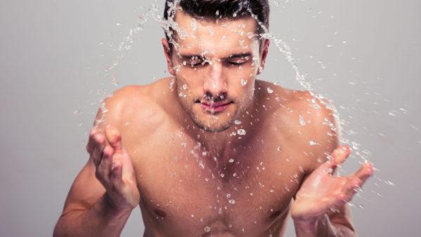 غسل البشرة للرجال