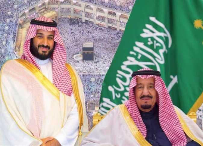 الملك سلمان وولى العهد الأمير محمد