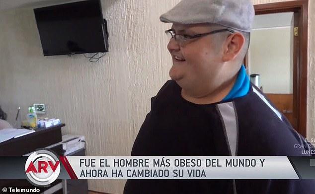 الشاب المكسيكى خوان بيدرو فرانكو أسمن رجل فى العالم