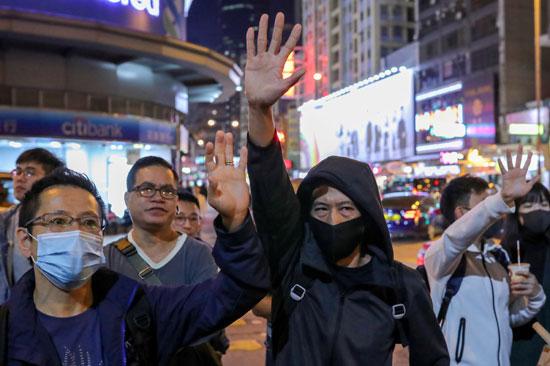 مظاهرات هونج كونج