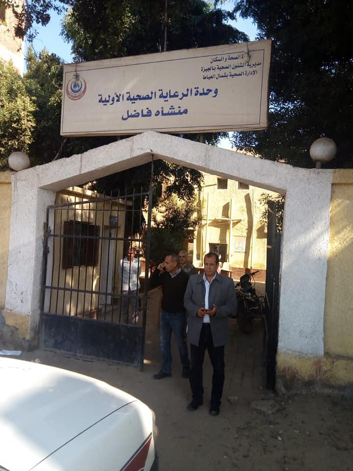 رئيس مركز ومدينة العياط خلال الجولة  (2)