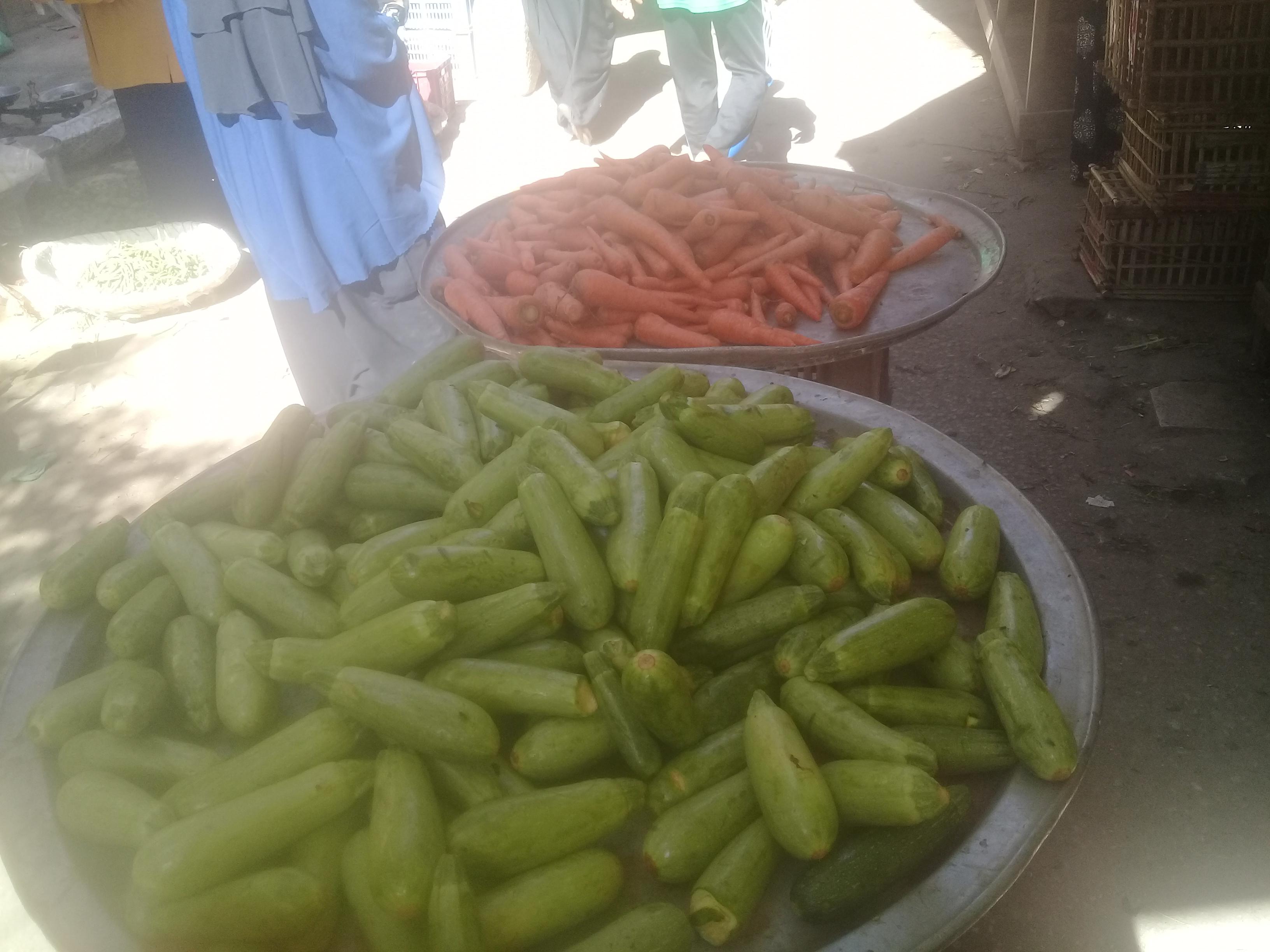 انخفاض اسعار الخضراوات بأسواق قنا (4)