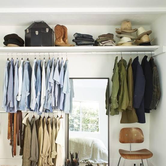 طريقة مثالية لتوفير مساحات داخل خزانة ملابسك