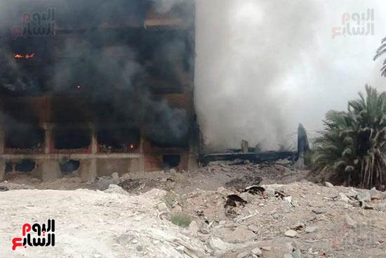 حريق مصنع أبو حوا للدراجات البخارية بقليوب (3)