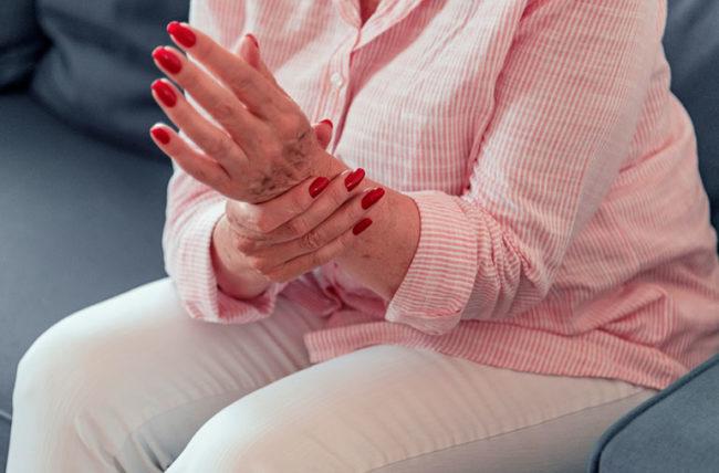 التهاب معصم اليد