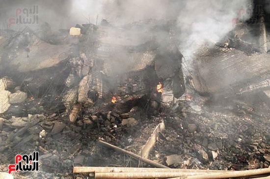 حريق مصنع أبو حوا للدراجات البخارية بقليوب (1)