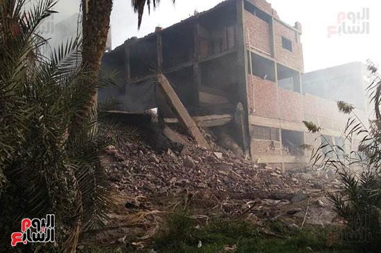 حريق مصنع أبو حوا للدراجات البخارية بقليوب (6)