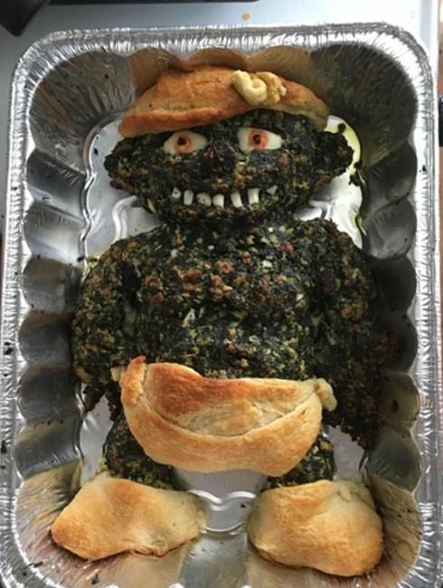 طعام مخيف