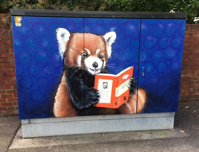 لوحات فى شوارع نيوزيلندا