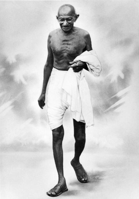 الزعيم غاندي