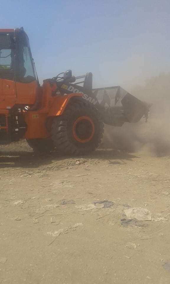 رفع 25 طن قمامة وتراكمات بمدينة الزينية شمالي محافظة الأقصر (3)
