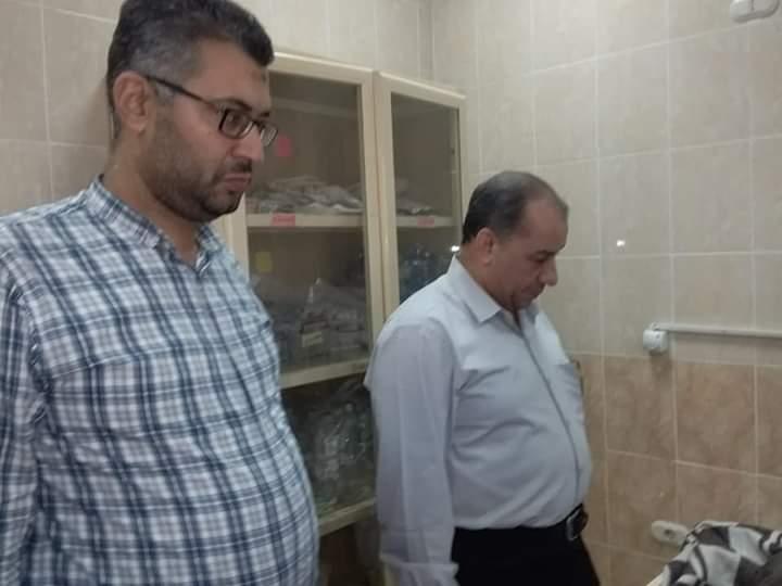 مدير التأمين الصحى بالشرقية يتابع انتظام جلسات الغسيل الكلوى بالعاشر من رمضان (4)