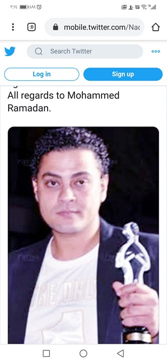 حساب الشاعر نادر عبد الله على تويتر (1)