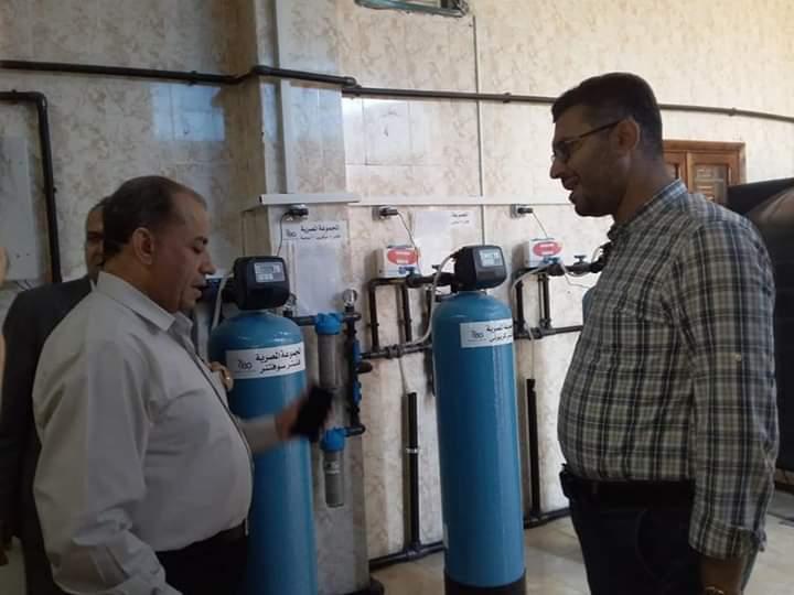 مدير التأمين الصحى بالشرقية يتابع انتظام جلسات الغسيل الكلوى بالعاشر من رمضان (5)