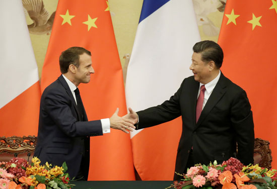 ماكرون-بدأ-زيارته-للصين-يوم-الاثنين-الماضى