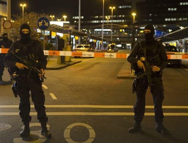 قوات الأمن الهولندية