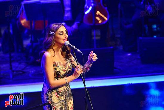 حفلة انغام بمهرجان الموسيقى العربية (2)