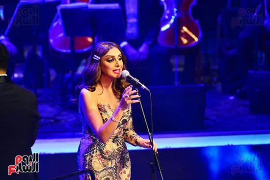 حفلة انغام بمهرجان الموسيقى العربية (40)