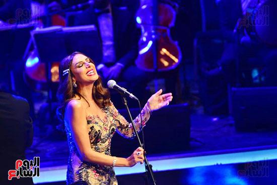 حفلة انغام بمهرجان الموسيقى العربية (26)
