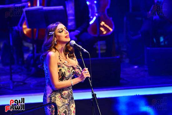 حفلة انغام بمهرجان الموسيقى العربية (11)