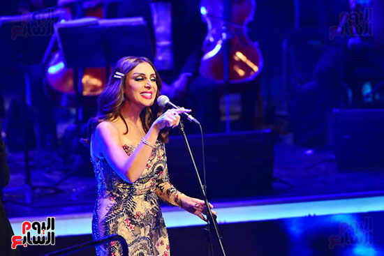 حفلة انغام بمهرجان الموسيقى العربية (44)