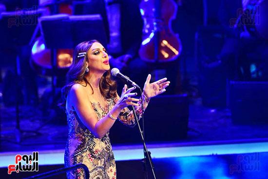 حفلة انغام بمهرجان الموسيقى العربية (14)