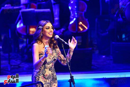 حفلة انغام بمهرجان الموسيقى العربية (27)