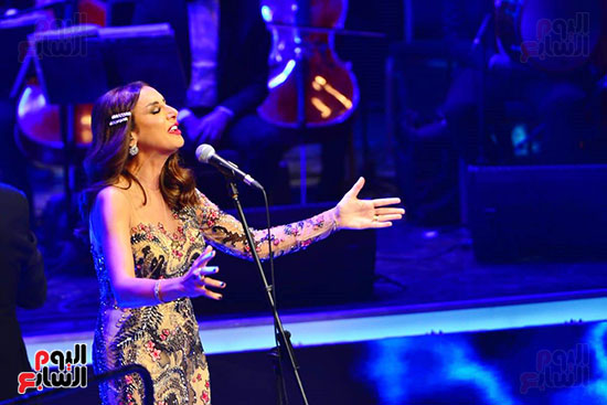 حفلة انغام بمهرجان الموسيقى العربية (19)