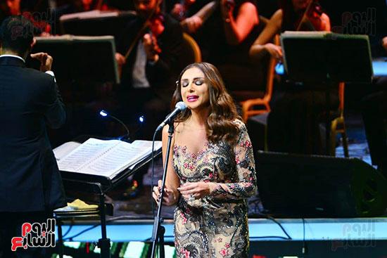 حفلة انغام بمهرجان الموسيقى العربية (23)