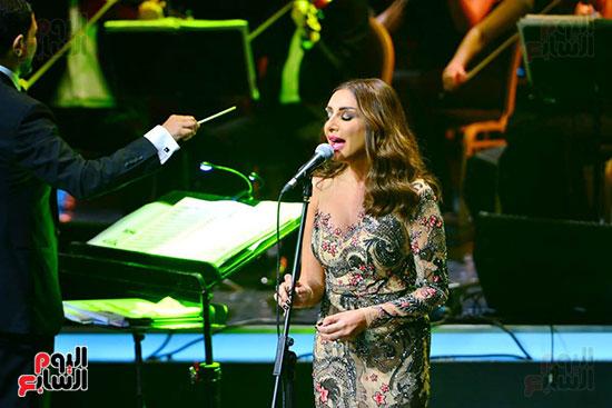 حفلة انغام بمهرجان الموسيقى العربية (15)