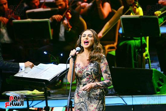حفلة انغام بمهرجان الموسيقى العربية (12)
