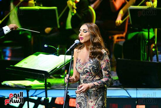 حفلة انغام بمهرجان الموسيقى العربية (5)
