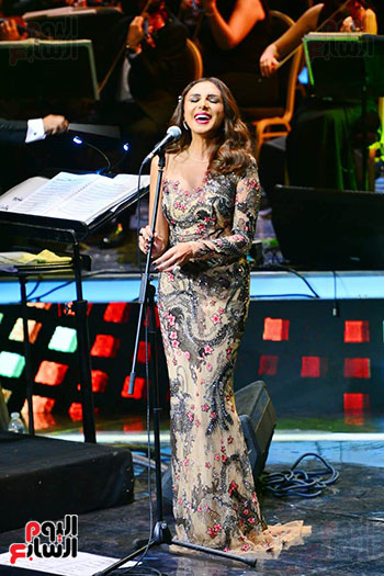 حفلة انغام بمهرجان الموسيقى العربية (4)