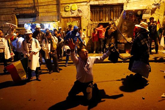احتجاجات فى بوليفيا