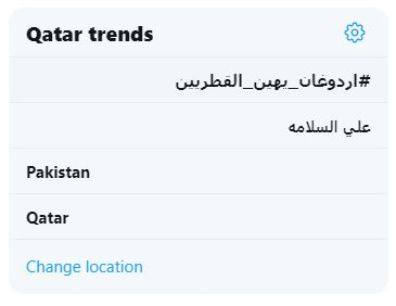 قائمة الاكثر تداولا فى قطر
