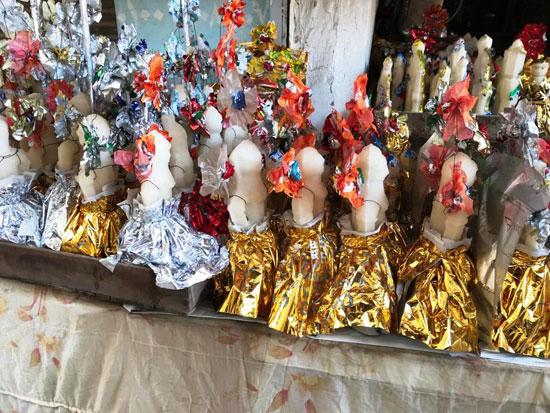 عروسة المولد تزين أسواق الغربية (14)