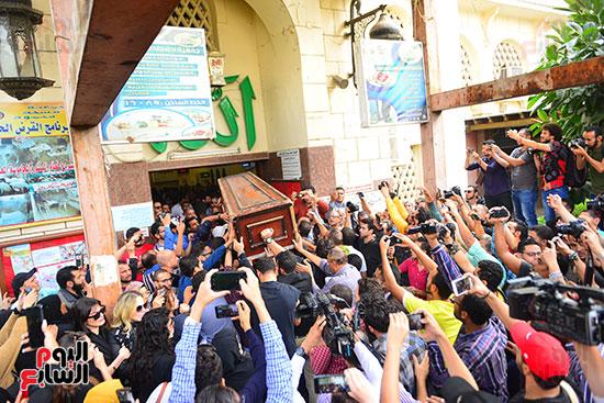 جنازة هيثم احمد زكي (25)