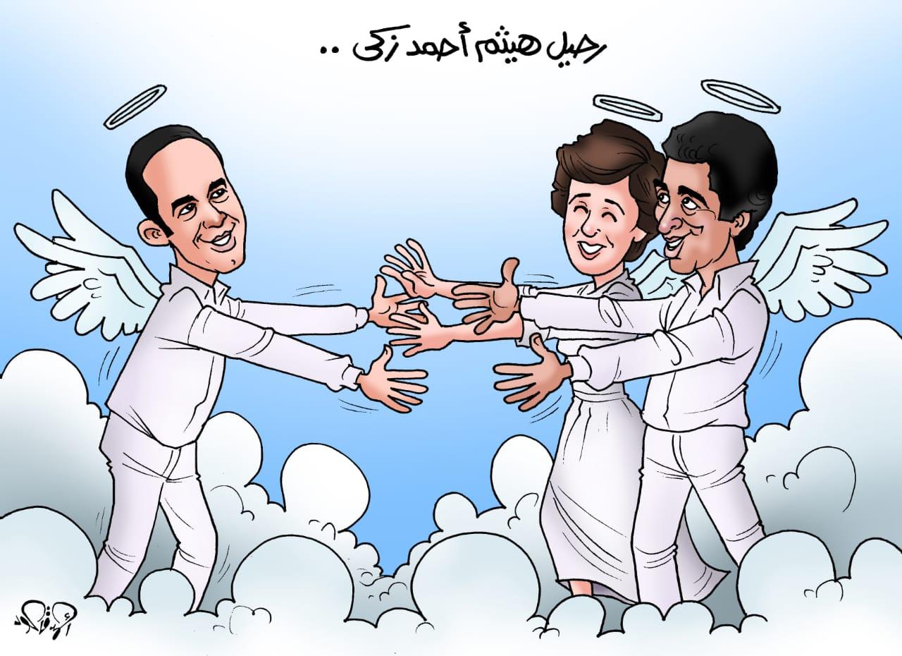 وفاة الفنان هيثم أحمد زكي