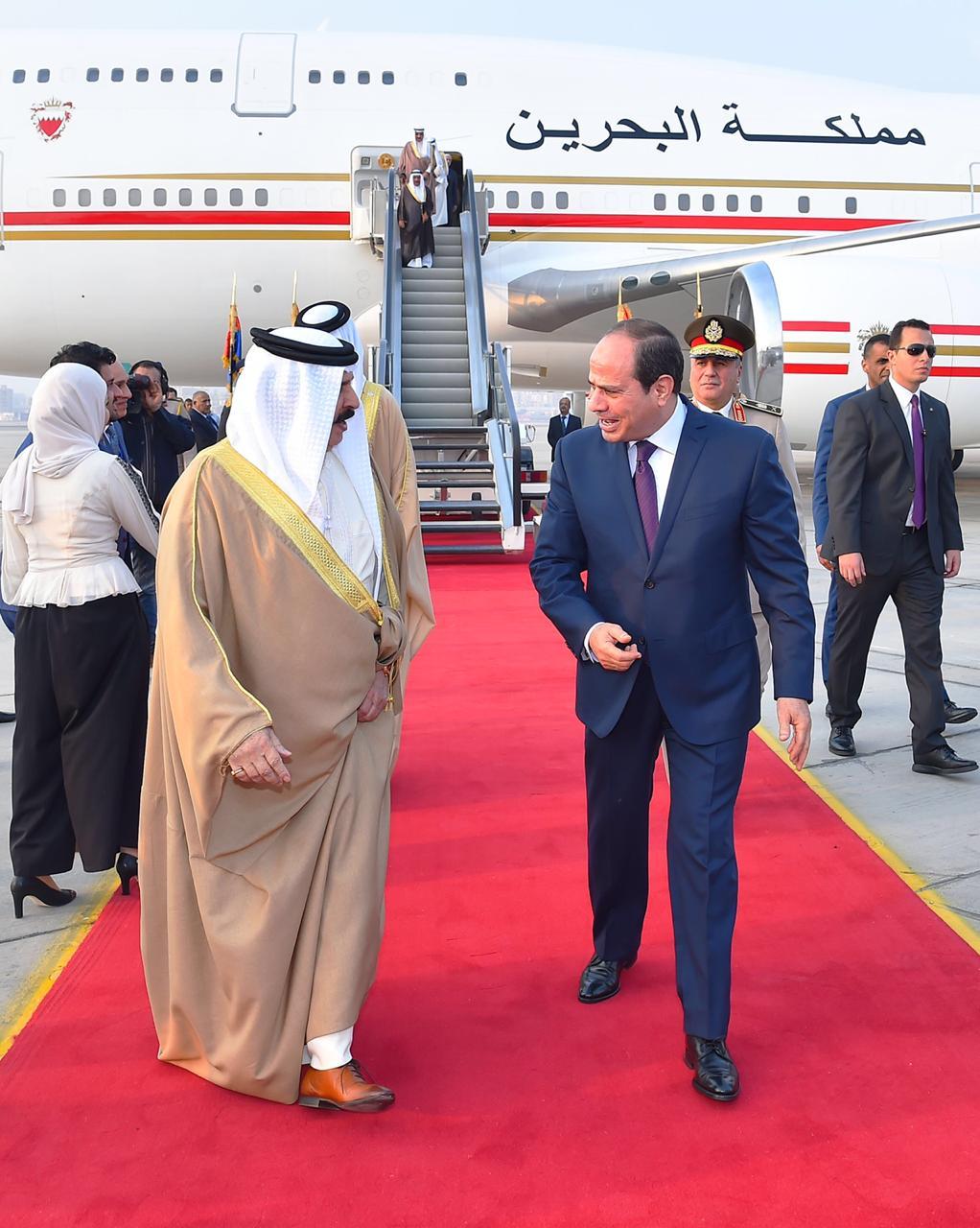 عبد الفتاح السيسي و الملك حمد بن عيسى آل خليفة ملك مملكة البحرين (7)