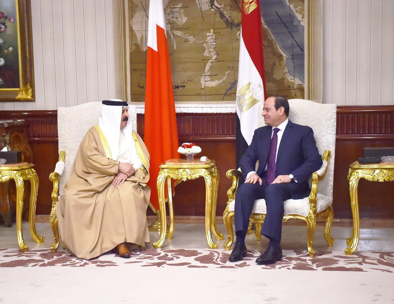 عبد الفتاح السيسي و الملك حمد بن عيسى آل خليفة ملك مملكة البحرين (8)