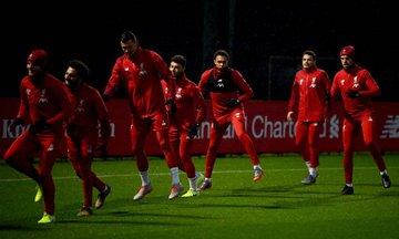 تدريبات ليفربول قبل مواجهة السيتي (4)