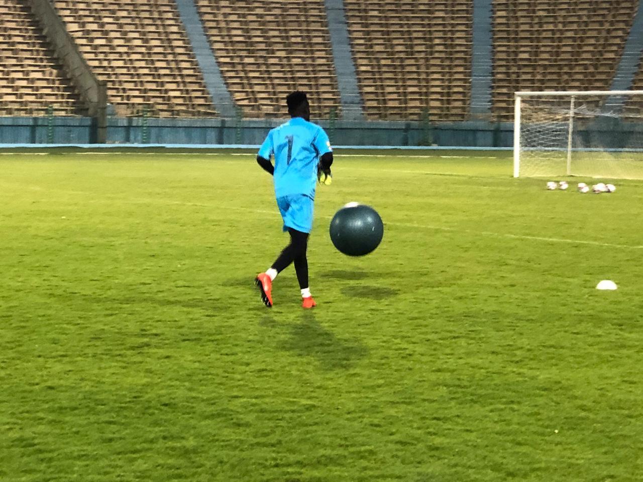 تدريبات منتخب غانا الاولمبى (3)