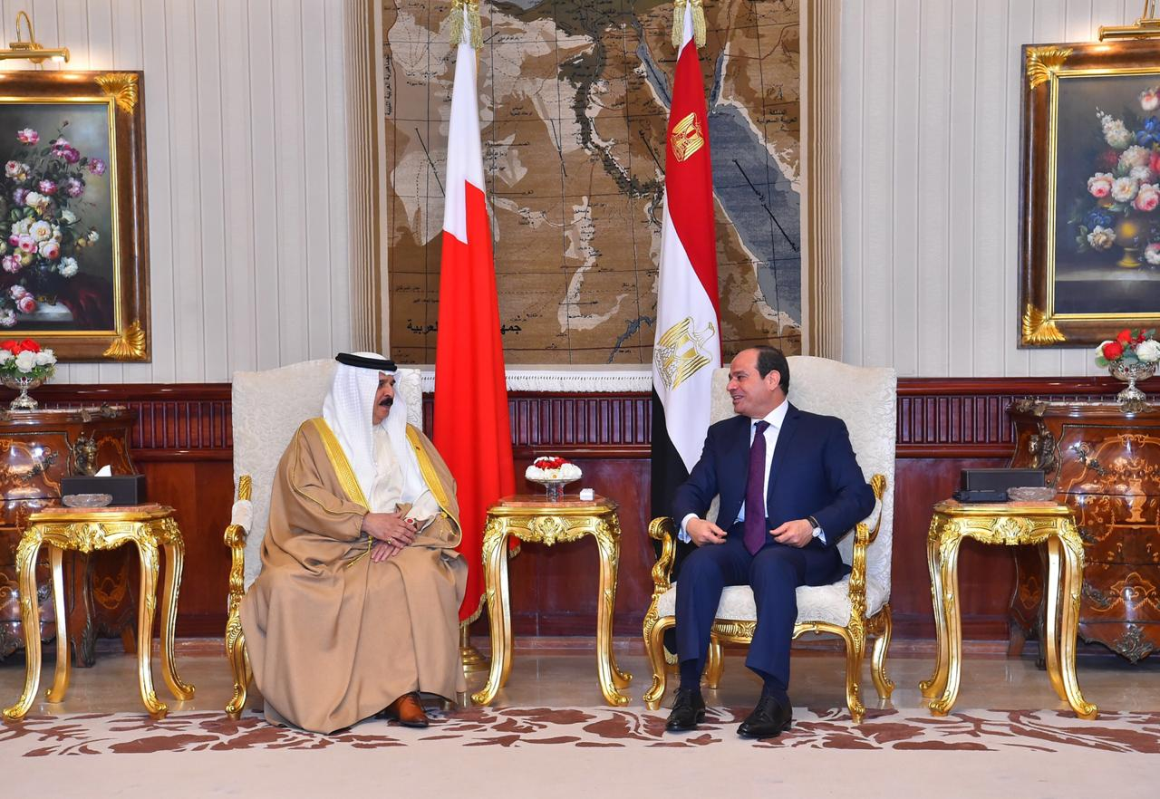 عبد الفتاح السيسي و الملك حمد بن عيسى آل خليفة ملك مملكة البحرين (10)