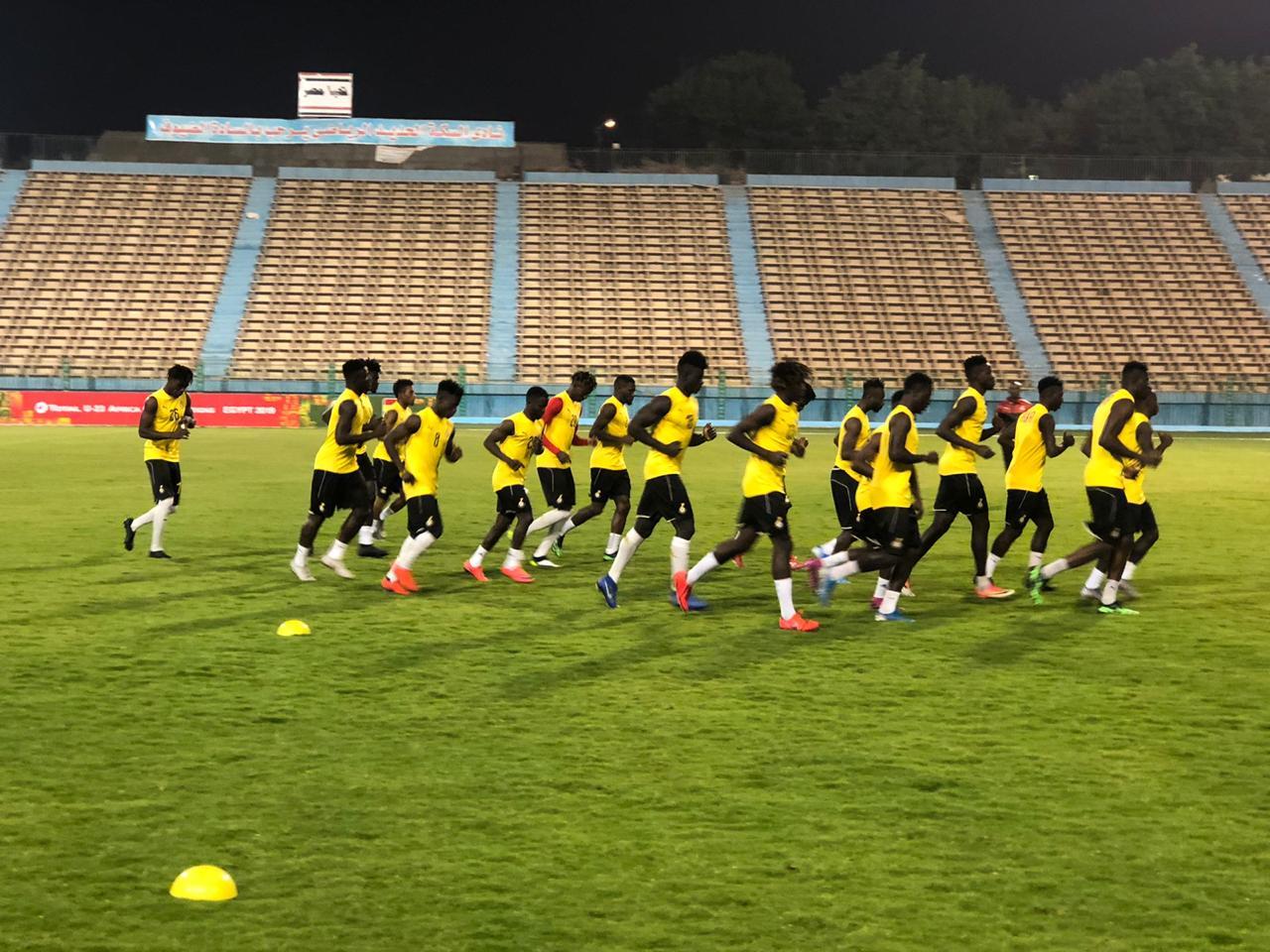 تدريبات منتخب غانا الاولمبى (5)
