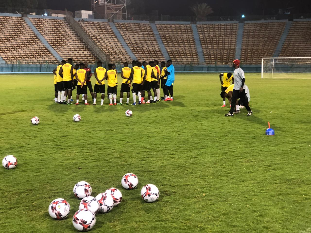 تدريبات منتخب غانا الاولمبى (2)