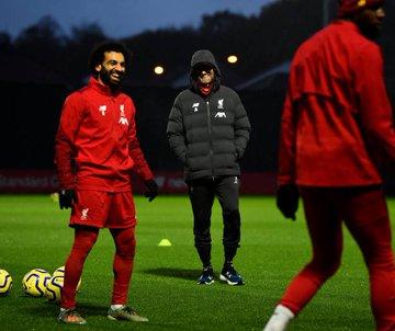تدريبات ليفربول قبل مواجهة السيتي (3)