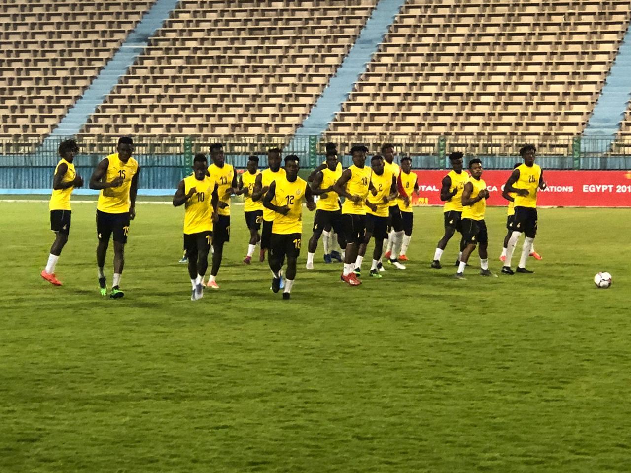 تدريبات منتخب غانا الاولمبى (6)